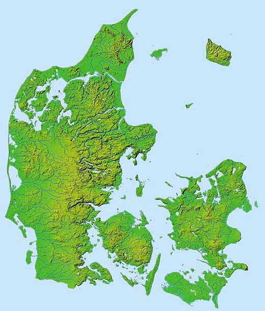 Camillas Danmarks Kort