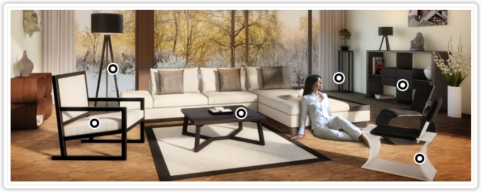 wohnzimmer m bel einrichtungsideen kaufberatung und. Black Bedroom Furniture Sets. Home Design Ideas