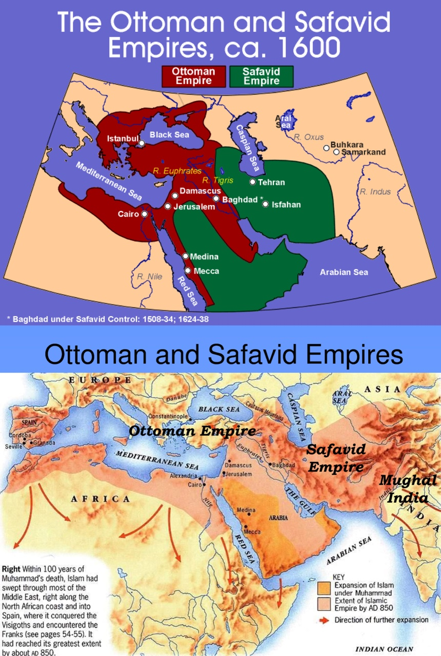 compare and contrast the ottoman empire and the safavid empire Compare and contrast the ottoman, safavid, munguhl empires essays 1007 words jan 16th, 2011 5 pages the ottoman, safavid, and mughals were all gunpowder empires the purpose of this essay is to compare and contrast the differences between all of these empires mentioned each fall into five different categories.
