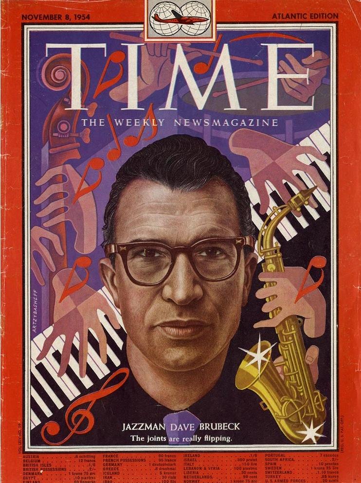 Image result for dave brubeck time magazine