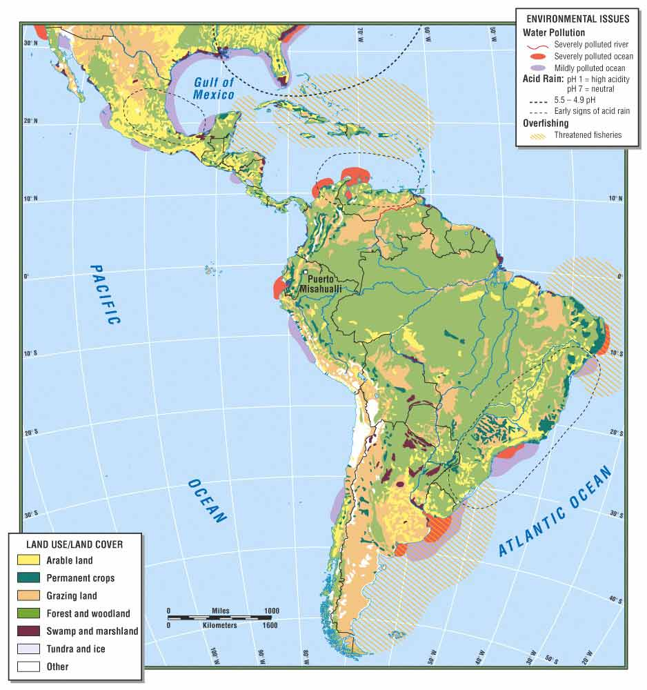 Deforestation Is Affecting The Amazon River ThingLink - Amazon river map of south america