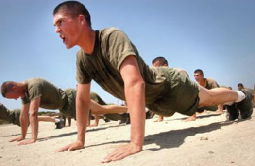Muscular endurance differs from muscular strength which i ...