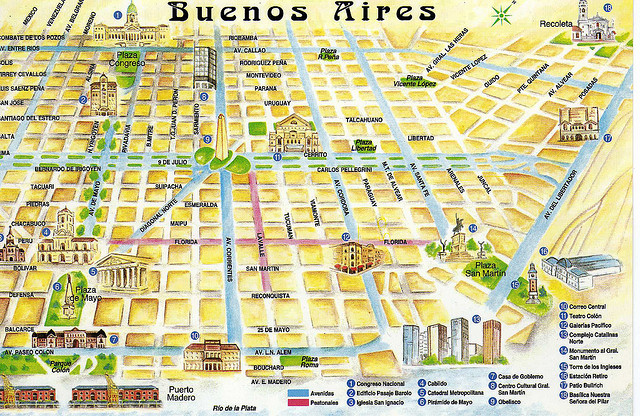Welcome to Buenos Aires ThingLink – Buenos Aires Tourist Map