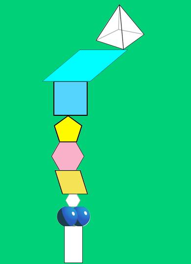 Pyrment, rhombus, square, pentagon, hexagon, parallelogra ...