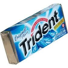 They Are Selling Gum Trident Gum Is Related To Mytholog