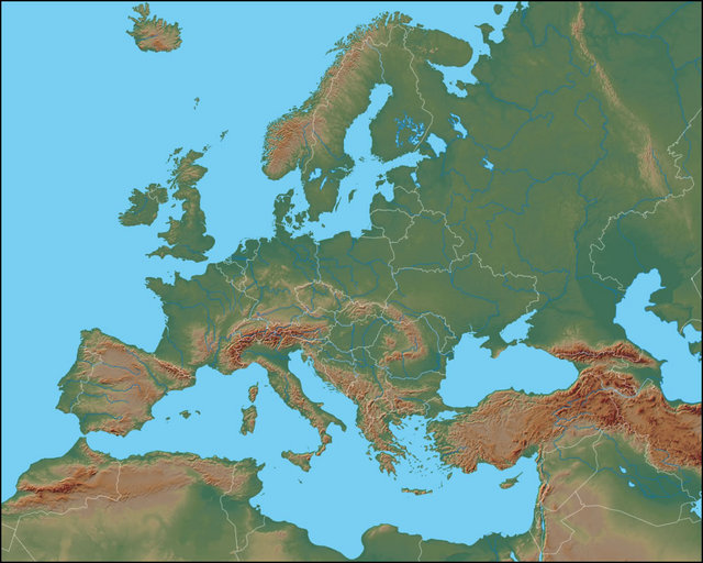 Cartina Muta Bacino Del Mediterraneo.Il Mar Mediterraneo Detto Brevemente Mediterraneo E Un