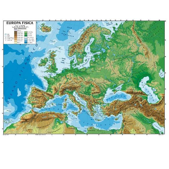 Cartina Fisica Europa Da Stampare Pieterduisenberg