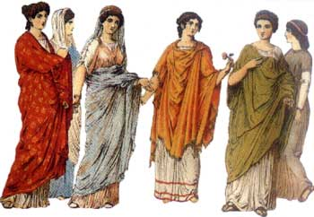 Stroje Noszone W Starożytnej Grecji Były Proste Lekkie