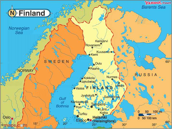Dominics Finland Thinglink ThingLink - Sweden russia map