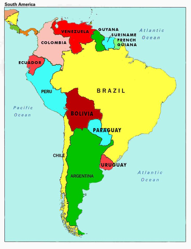 South America Map ThingLink - S america map