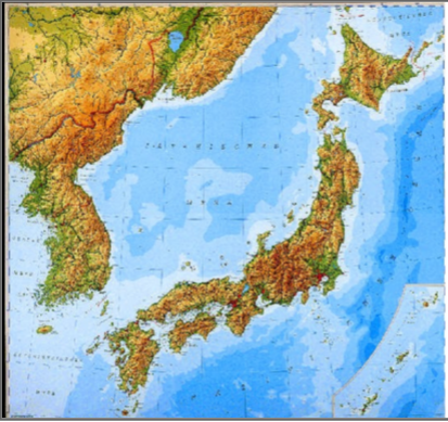 KIP Japan North Korea South Korea Mapby Collin Sanders - Japan map korea