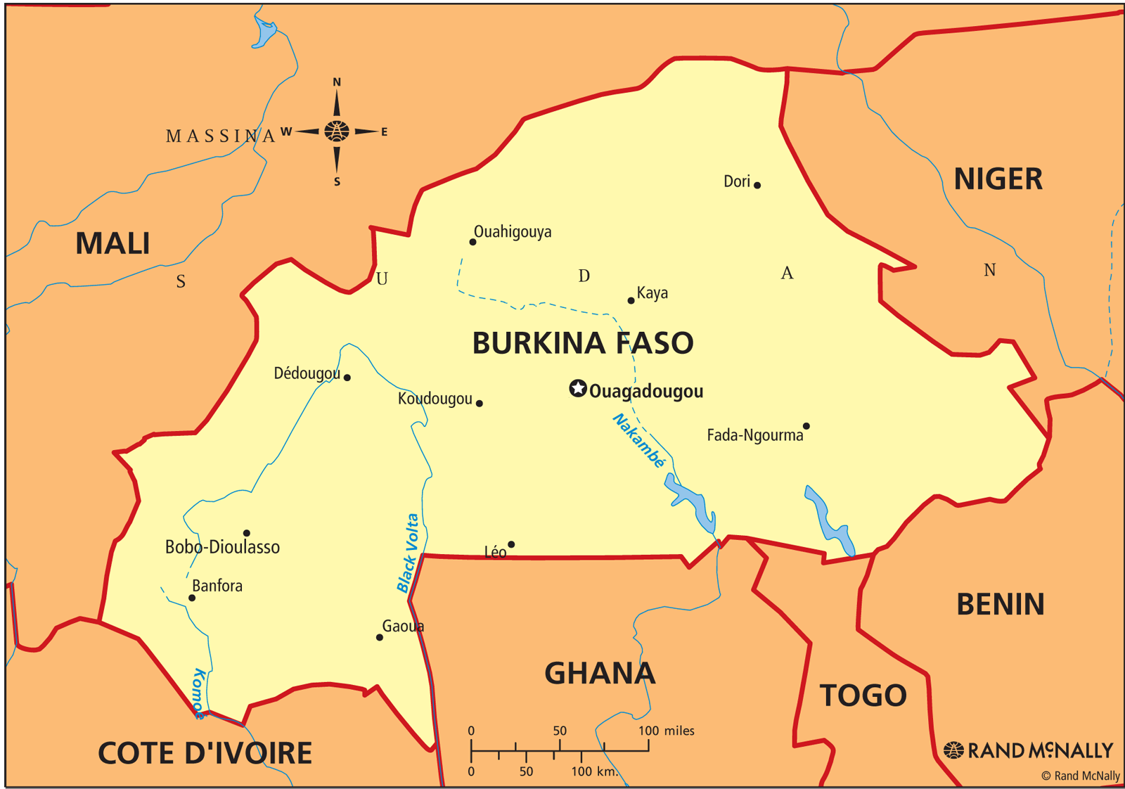 Burkina Faso ThingLink - Burkina faso map