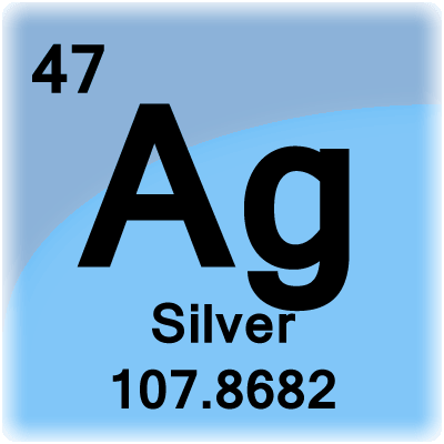 Silver periodic table symbol table ideas urtaz Gallery