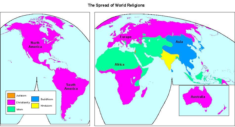Worksheet. 5 Major World Religions  ThingLink