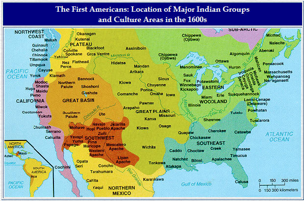 The Iroquois were an alliance of five tribes in the north