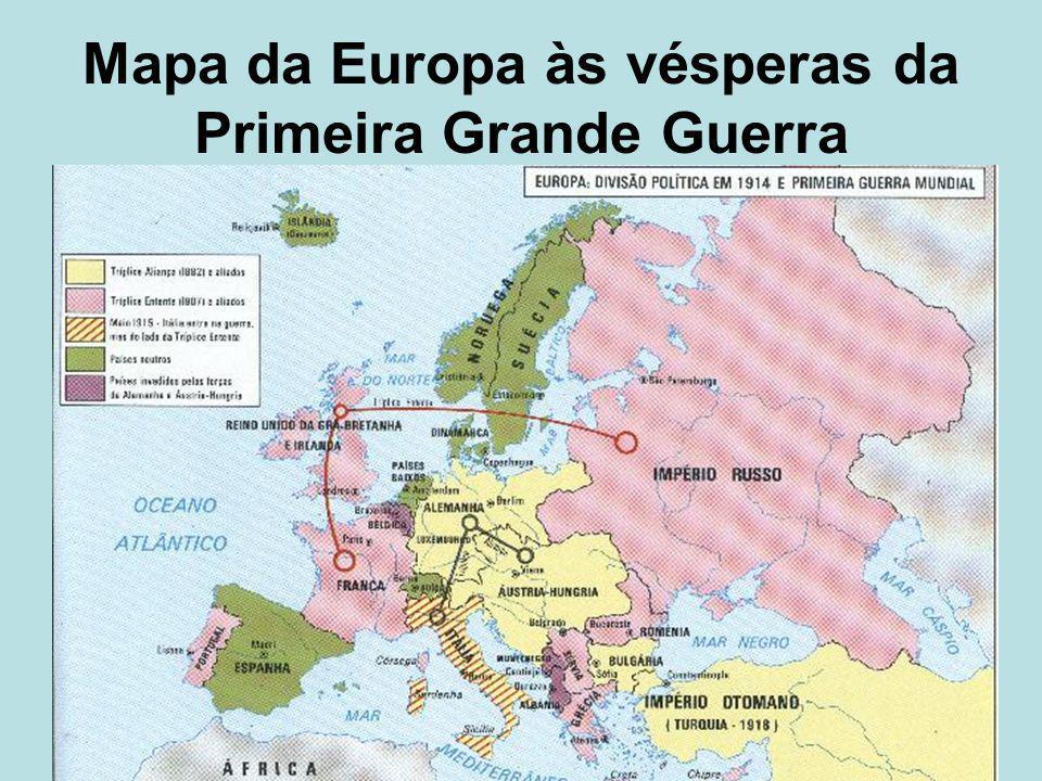 Mapa Da Europa 1914