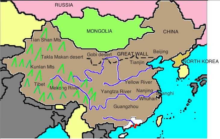 Map Of Ancient China My Ancient China Map Map Of Ancient China