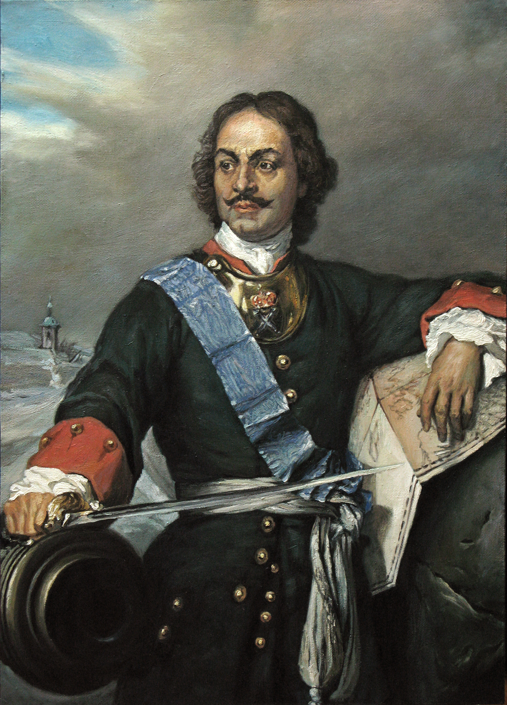 czar peter the great russian tsar r 1689 1725 he en