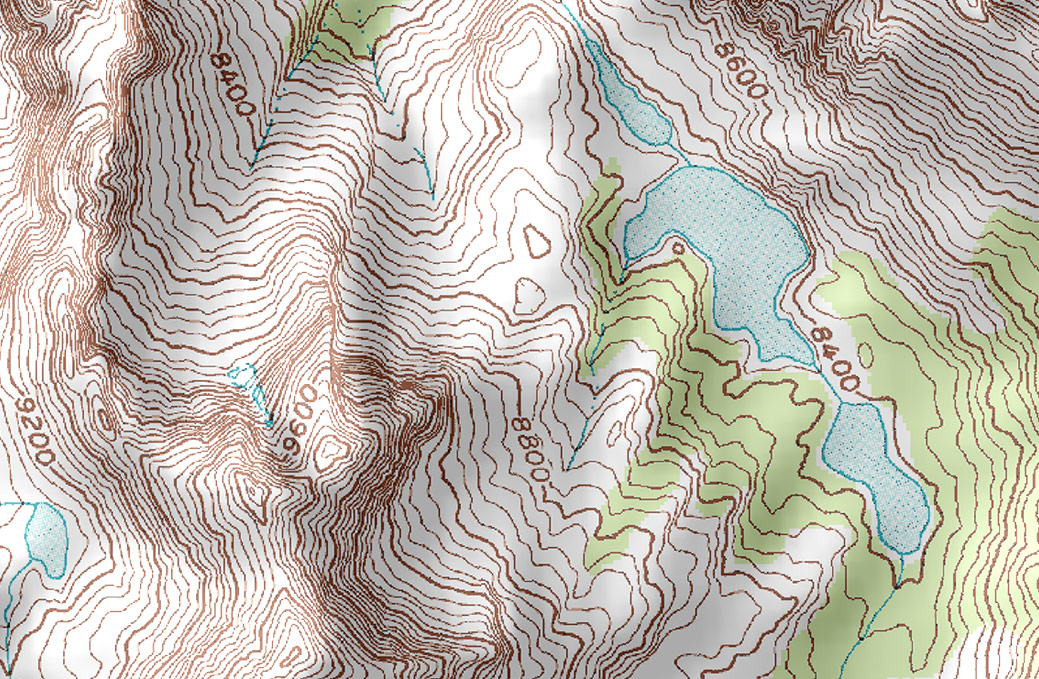 Topographic Map., Elevation., Relief, Contour Line, Conto