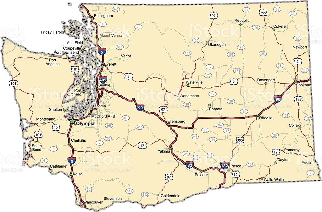 Picture of: Washington Road Map