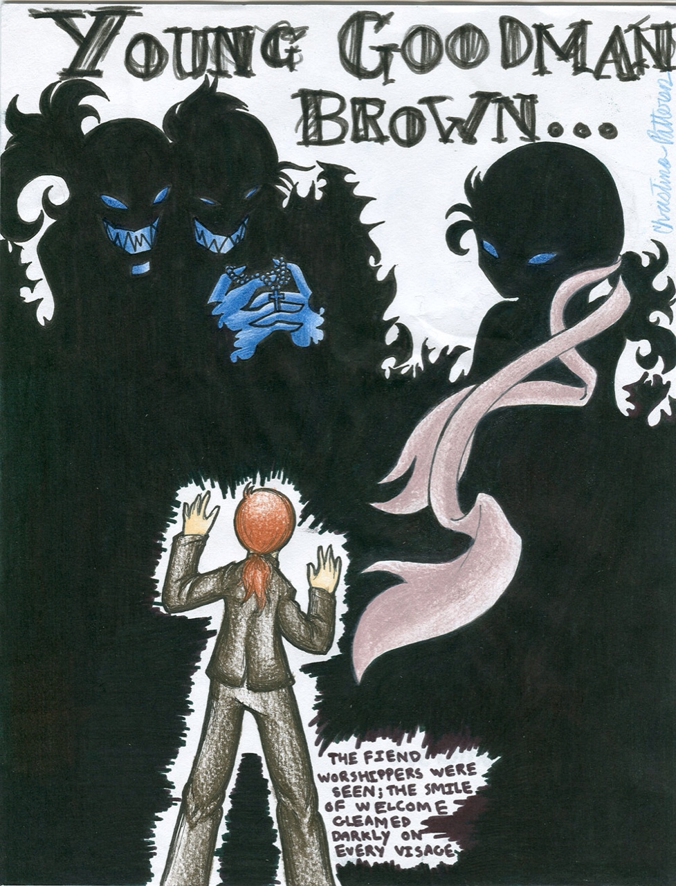 "Analysis and Plot Summary of ""Young Goodman Brown"" by Nathaniel Hawthorne"