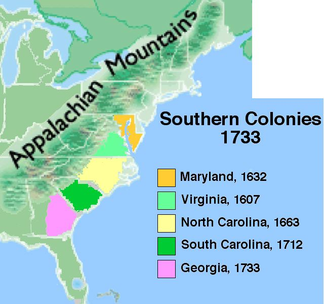 Camille Southern Colonies ThingLink