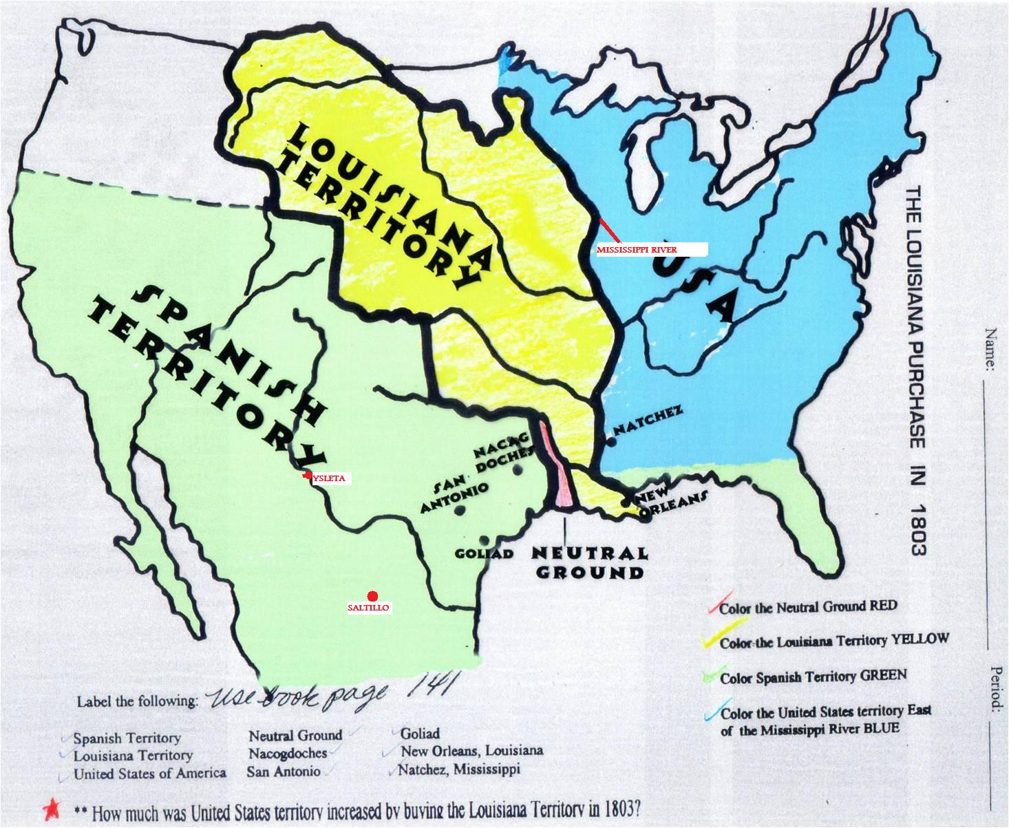 an overview of the louisiana purchase The louisiana purchase was one of the most important land acquisitions ever to be made by the united states and many say that it was what really qualified the us as a preeminent world power and rival of europe.