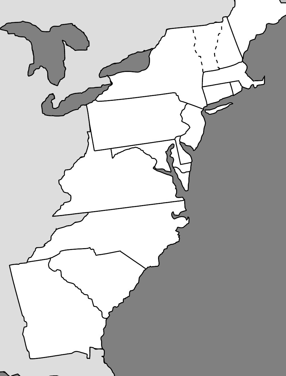 coloring sheet 13 colonies colonies map design coloring page