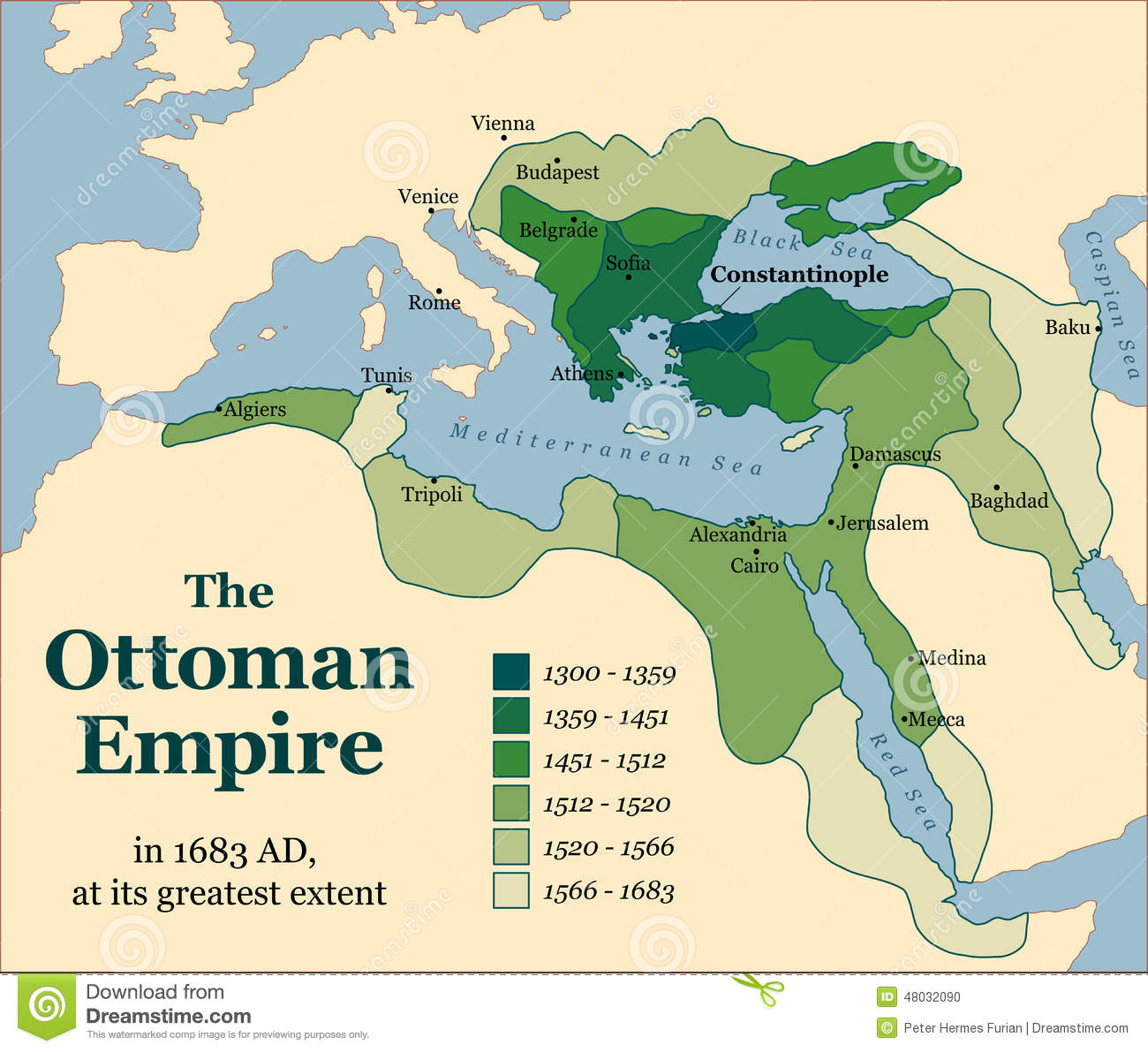 The Ottoman Empire used to be in the place of what is known as the Middle  East. The downfall of the Ottoman Empire lead to the Middle East.