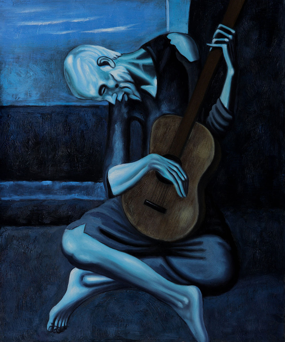 picassos old guitarist essay The old guitarist essays pablo picasso is one of the most world-renowned artists and possibly the most famous artist of the 20th century i know that when i think of art the first artist that comes to mind is picasso.