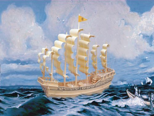 Matchless who invented the fist sail are