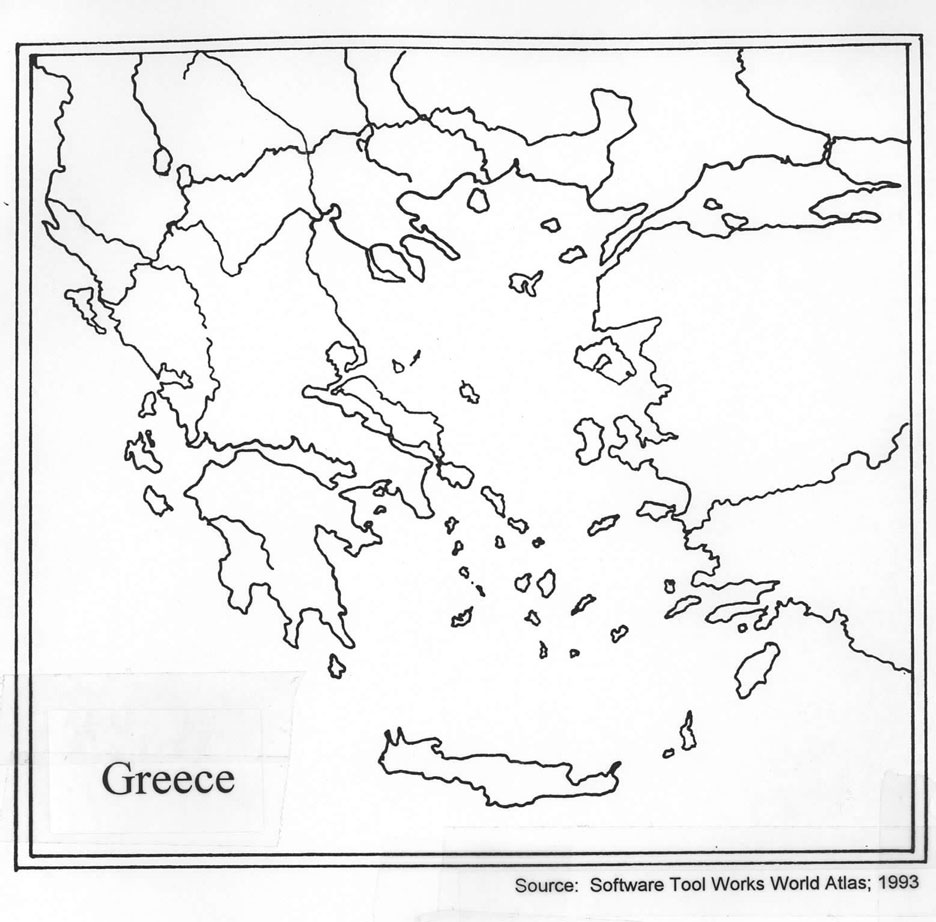 worksheet Ancient Greece Map Worksheet greece map thinglink