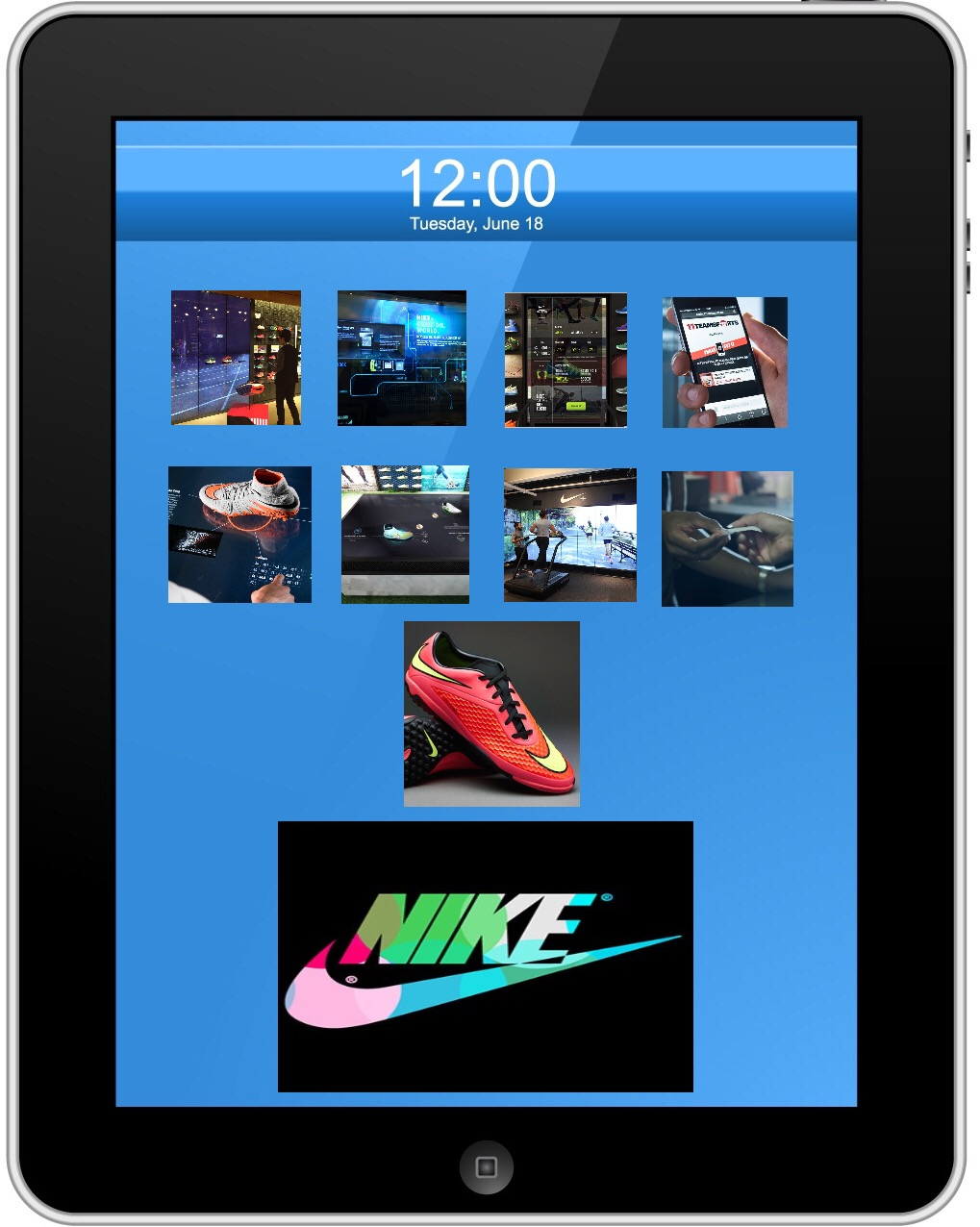 331ffd2c8220 Nike Digital Retail Experience  Berlin Edition