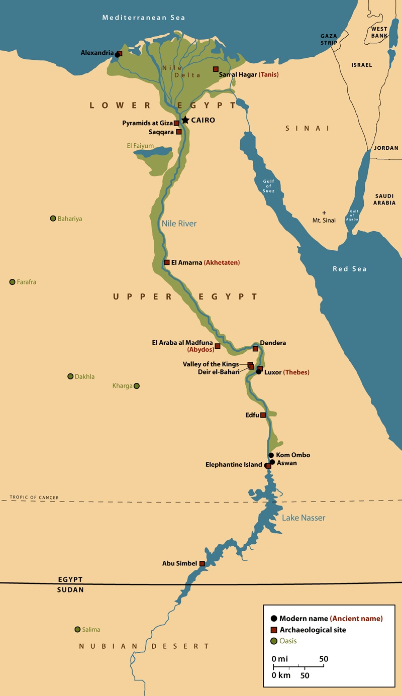 egypt and the nile