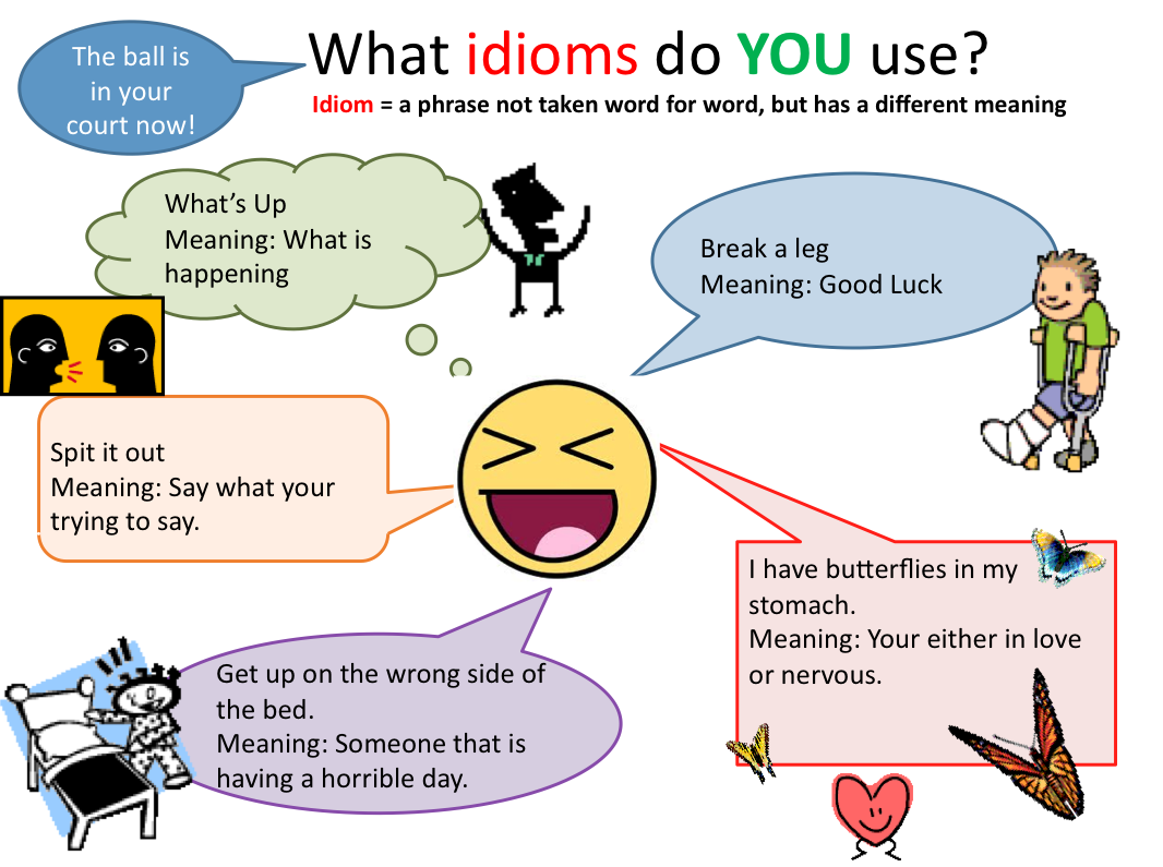 Idioms Examples For Students Images Example Cover Letter For Resume