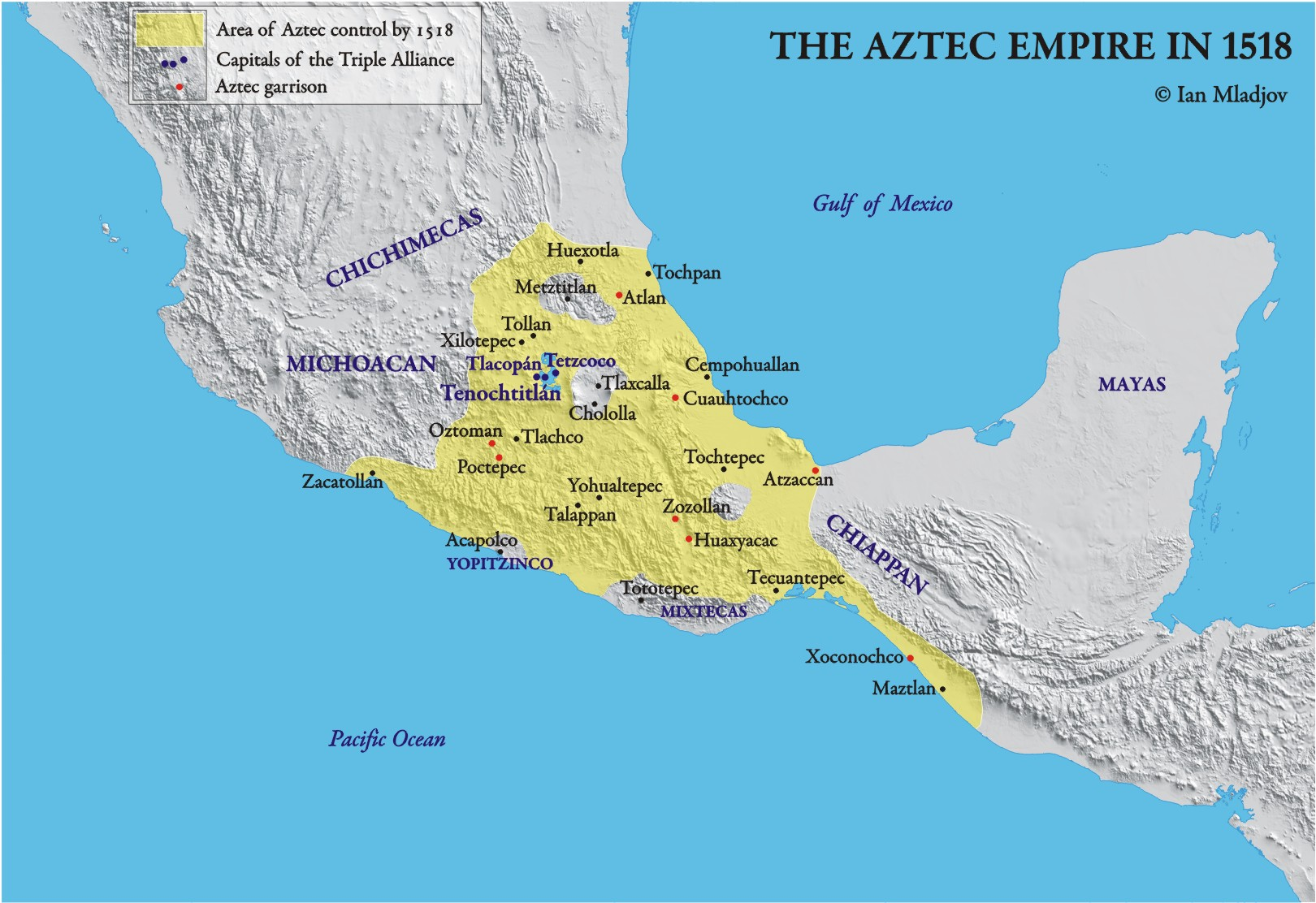 The Aztec Empire - ThingLink