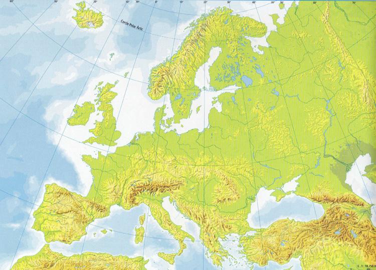 Montaas Peninsulas y Llanuras de Europa  ThingLink