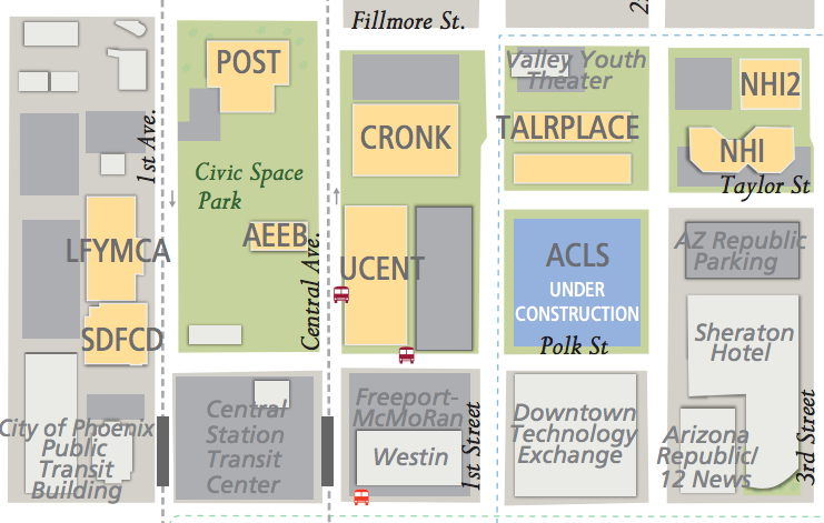 Campus Map Asu.The Post Office Was Acquired In 2013 By Asu And Was Soon