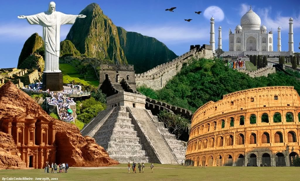 Seven Wonders of the World - ThingLink
