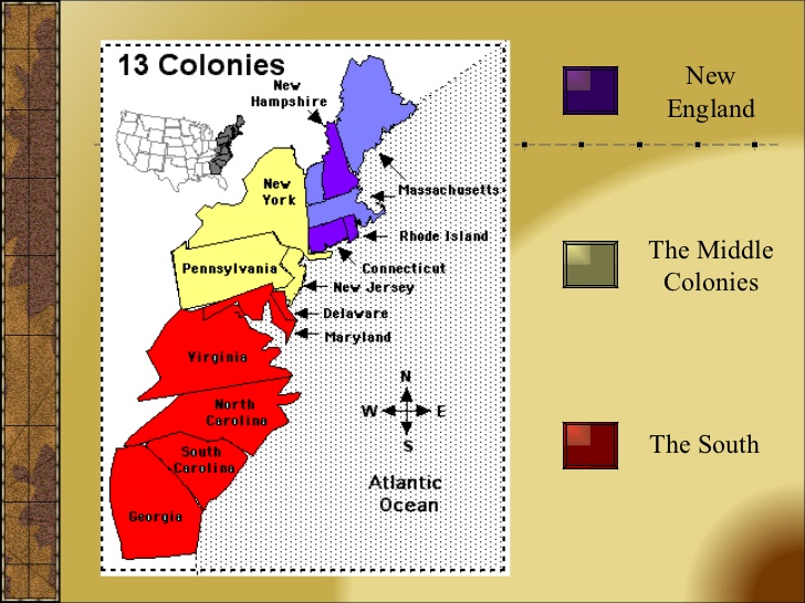 what states were the original 13 colonies