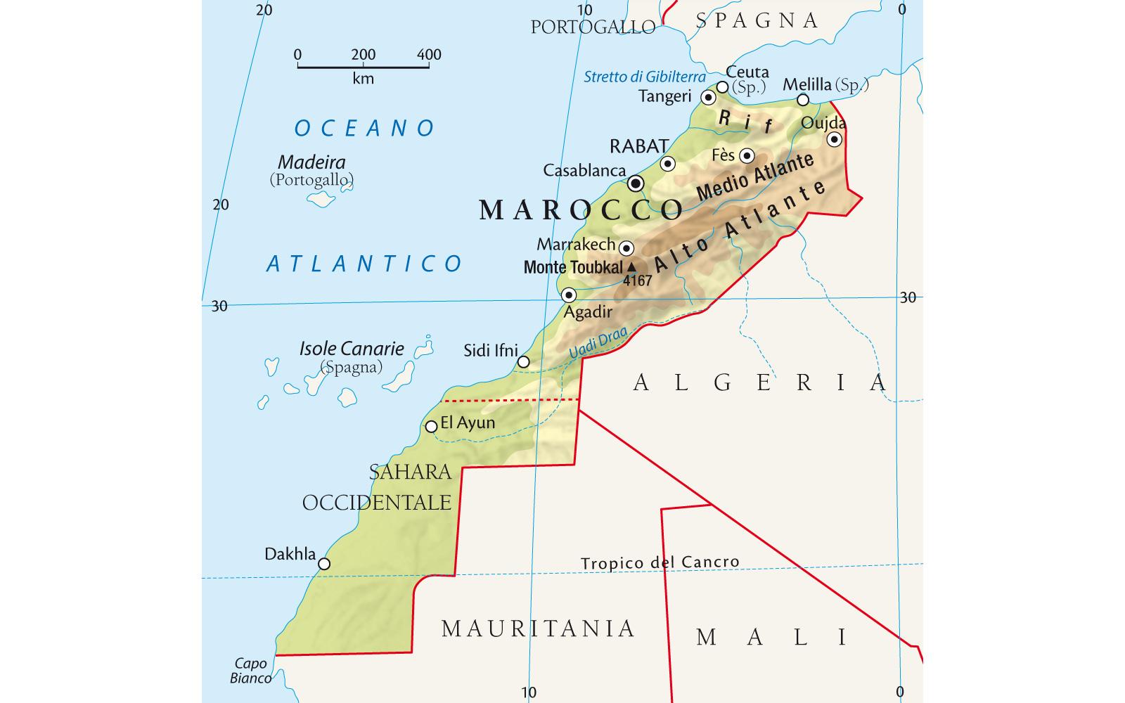 Marocco Cartina Geografica Fisica.Marocco Alessia Mecoj Lorenzo Mattia E Anglia Filippi