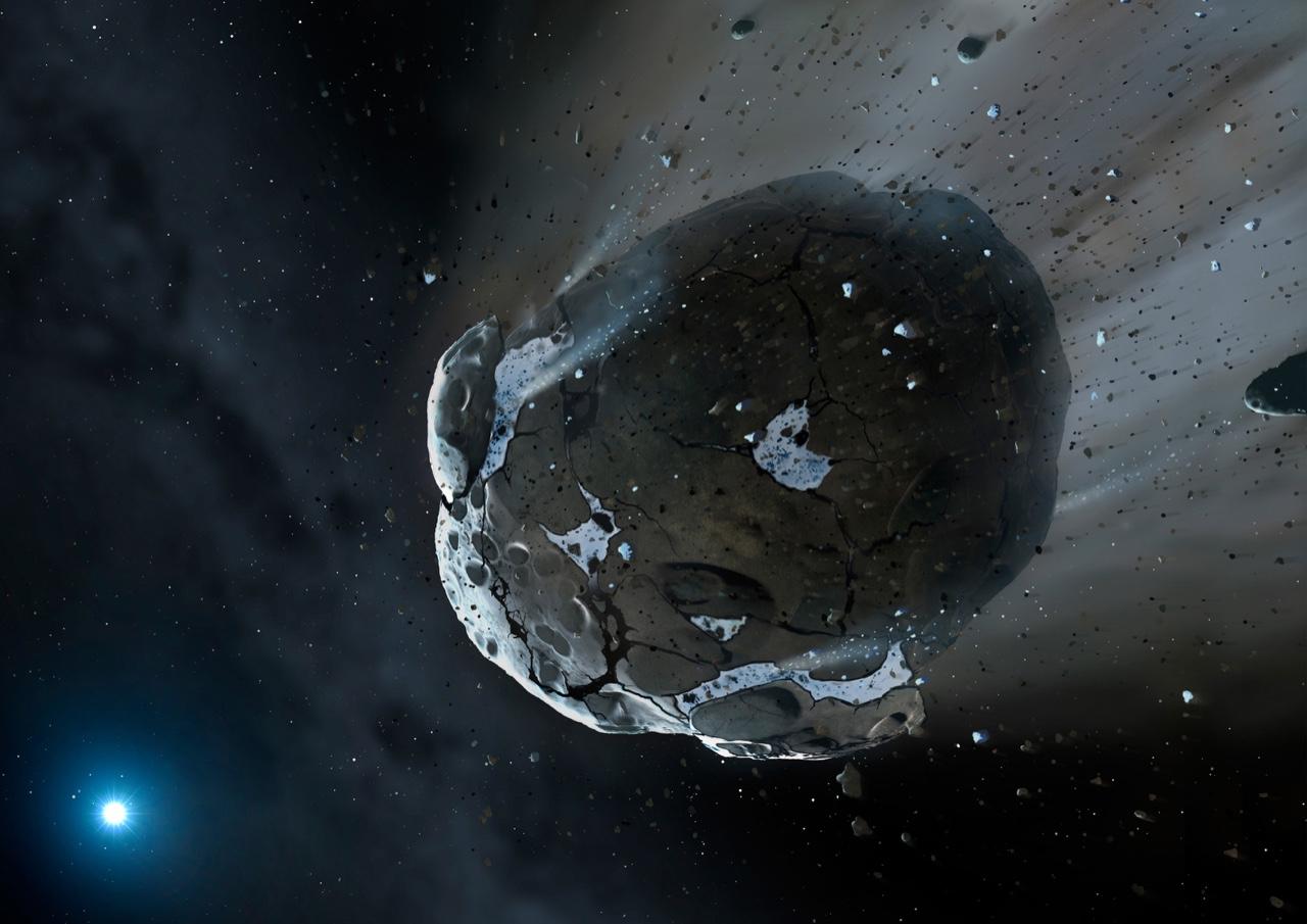 ice comet asteroids - photo #33
