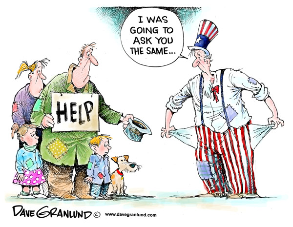 Satirical Cartoon