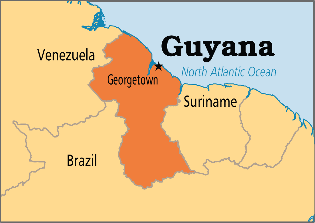Guyana Capital is Georgetown The exact location of Geor ThingLink
