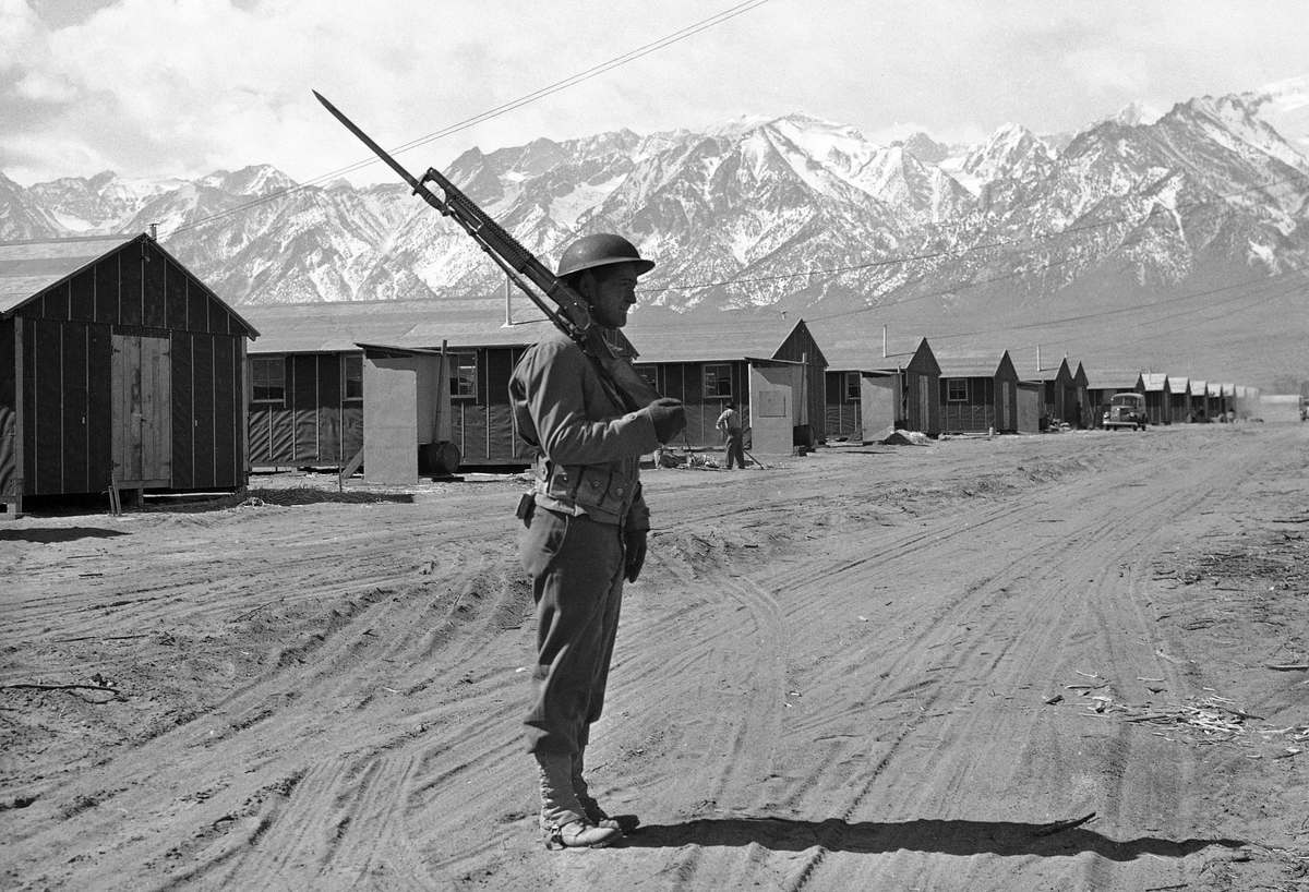 japanese interment camps Japanese american internment japanese american internment was the world war ii internment in war relocation camps of over 110,000 people of japanese heritage who lived on the pacific.