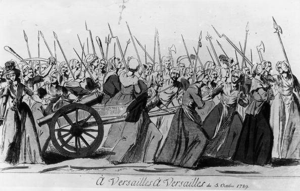 the march to versailles The women march on versailles, 5th-6th october 1789 oil painting by h de la charlerie, the highest quality oil painting reproductions and great customer service.
