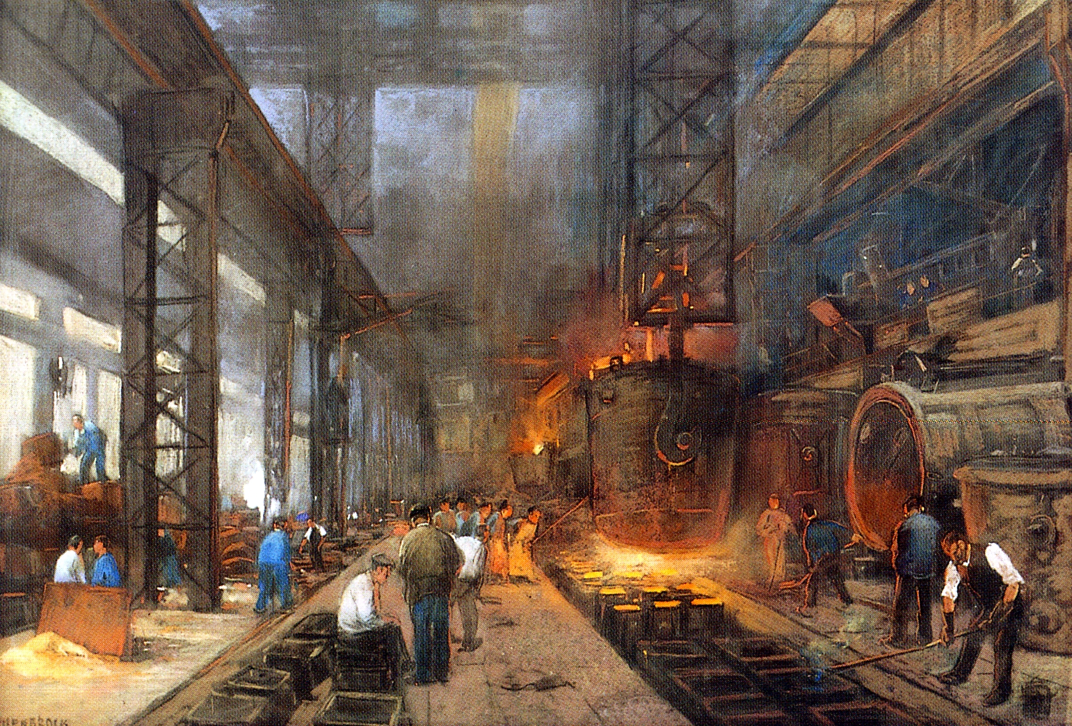 an analysis and the history of the two countries that invented the industrial revolution The second industrial revolution  by using analysis such as time-and-motion studies  the relentless revolution: a history of capitalism.