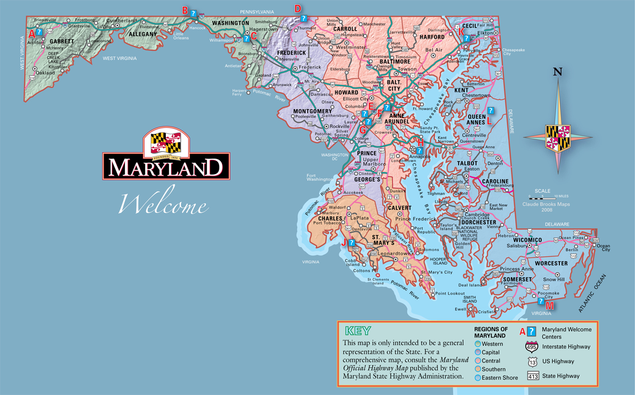 Chesapeake Bay Virginia Eastern Shore Map Find Us Angelica - Maryland map usa