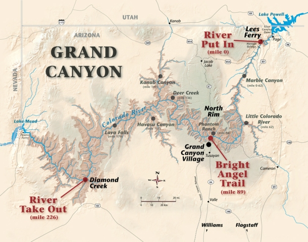 Grand Canyon desert biome  ThingLink