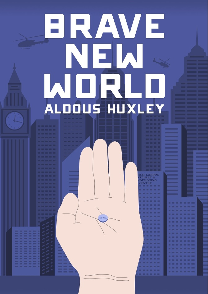 the elements of anti heroism in brave new world a novel by aldous huxley